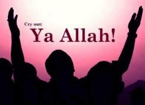 Ya allah cry out