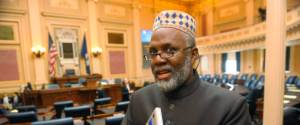 Daily prayer to Richmond House Chamber given by Falls Church Imam Johari Abdul-Malik