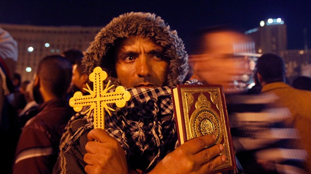 أقباط-مصريون-في-مظاهرة-3