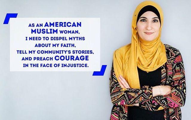 Linda-Sarsour-Arab-American-muslim-Hijab-female-activist-Elite-Alan-Svejk-VIP-Islamic-Military-Affairs
