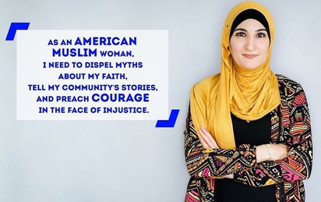 Linda-Sarsour-Arab-American-muslim-Hijab-female-activist-Elite-Alan-Svejk-VIP-Islamic-Military-Affairs