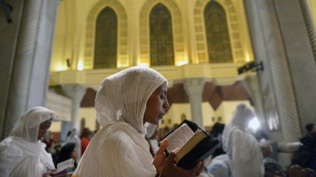 EGYPT-RELIGION-COPTIC-EASTER