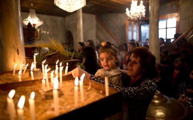PALESTINIAN-RELIGION-CHRISTIANITY