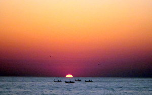 5983261-Fishing_Boats_at_Sunset-0